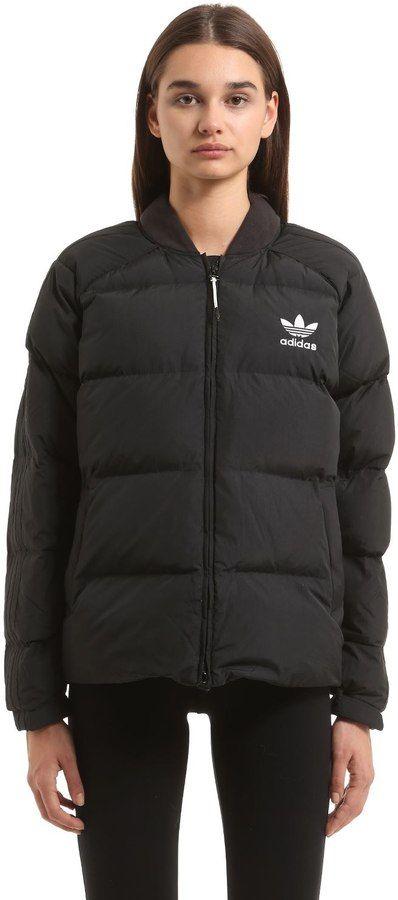 bbfbfe707 adidas SST NYLON DOWN JACKET   kabátok   Kabátok