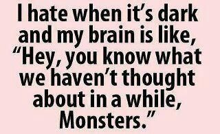... under my bed. I'm sure of it...Thoughts, Quotes, Serial Killers, Funny, So True, Monsters, Scary Movie, Horror Movie, True Stories