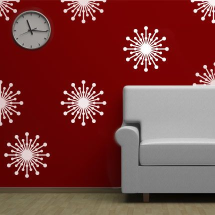 find this pin and more on shapes wall decals - Simple Shapes Wall Design 2