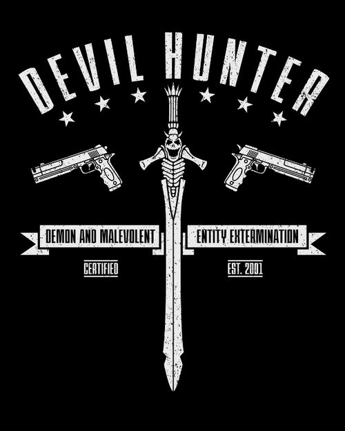 """Devil Hunter"" inspired by the Devil May Cry games"
