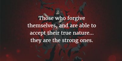 These Itachi Uchiha quotes will help you understand his true nature, one that is different from his often evil side. Or maybe you will show different idea towards him in Naruto Shippuuden.