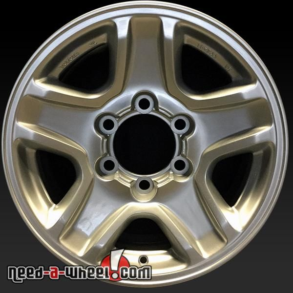 "1999-2002 Toyota 4Runner oem wheels for sale. 16"" Silver stock rims 69354 http://www.need-a-wheel.com/rim-shop/16-toyota-4runner-oem-wheels-rims-silver-69354/ , #oemwheels, #factorywheels"