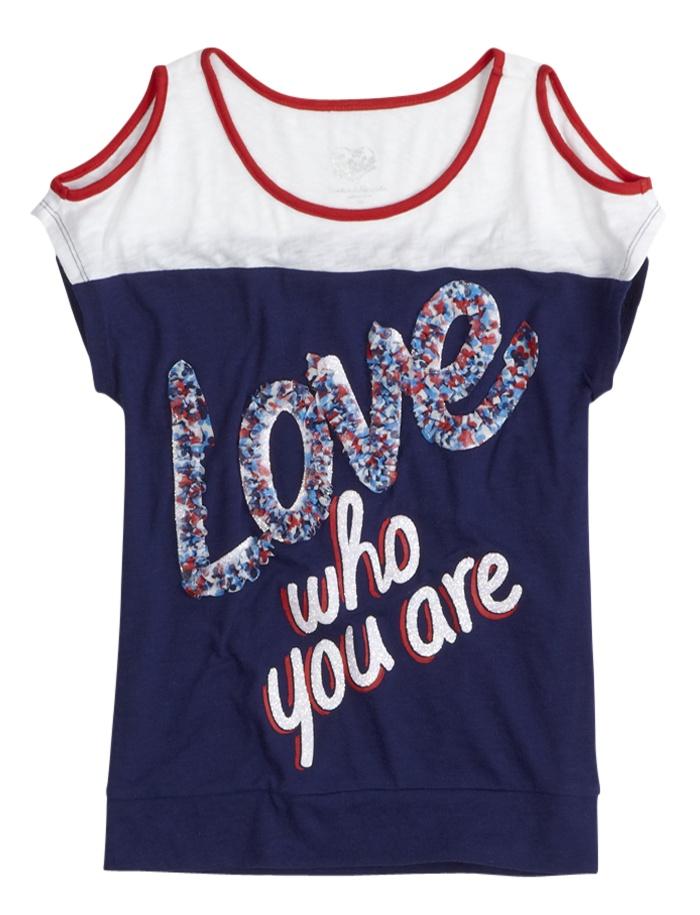 Embellished Icon Top   Short Sleeve   Tops & Tanks   Shop Justice