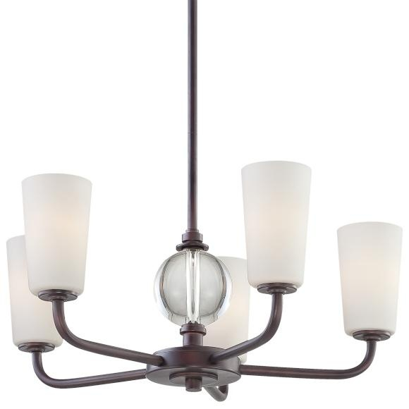 This Minka 5 Light Chandelier Is Breathtaking And Would Be Used Over A Dining Room