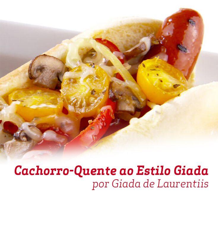 Uma saborosa receita de Giada de Laurentiis para variar no cardápio das festas.