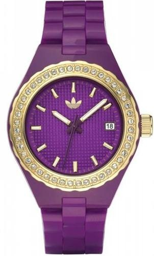 Women's Purple Adidas Cambridge Crystallized Watch ADH2091 | eBay