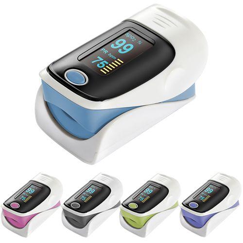 A dedo OLED oxímetro de pulso da ponta do dedo Monitor de freqüência cardíaca de Fulse 57JD alishoppbrasil