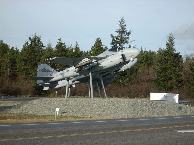 oak harbor wa | Oak Harbor, WA : A-6 & EA-6B welcome you to Oak Harbor