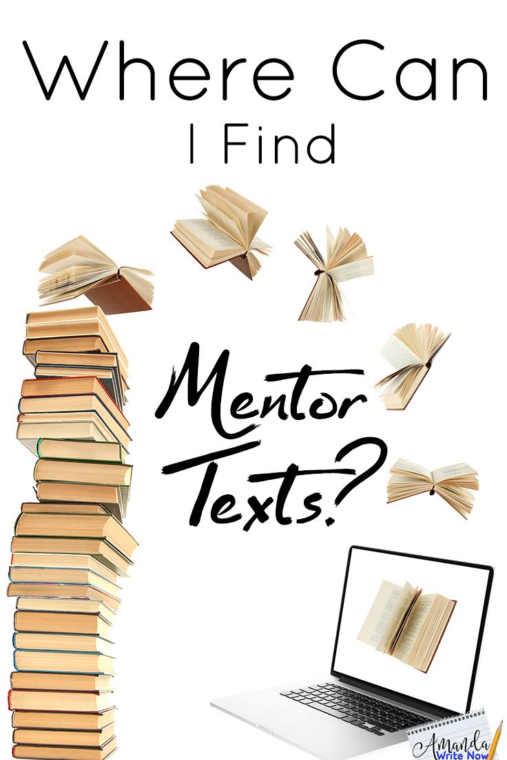 Ten Places to Find Mentor Texts - Amanda Write Now