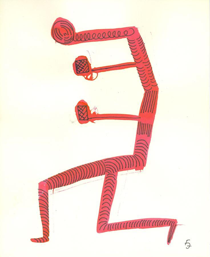 Title: Juggler 04 / Technic:mixed / Year:2016 / Artist: Fülöp József
