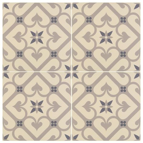 Epoque in blue are intricate, floral inspired tiles, part of the Odyssey collection. These striking tiles are sure to make a statement in any part of the home.