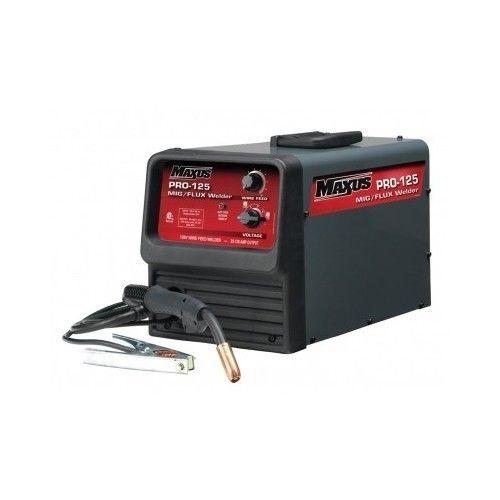 New MIG Welder Welding Flux Core Wire Machine Auto Feed 125 Amp w 120V | eBay