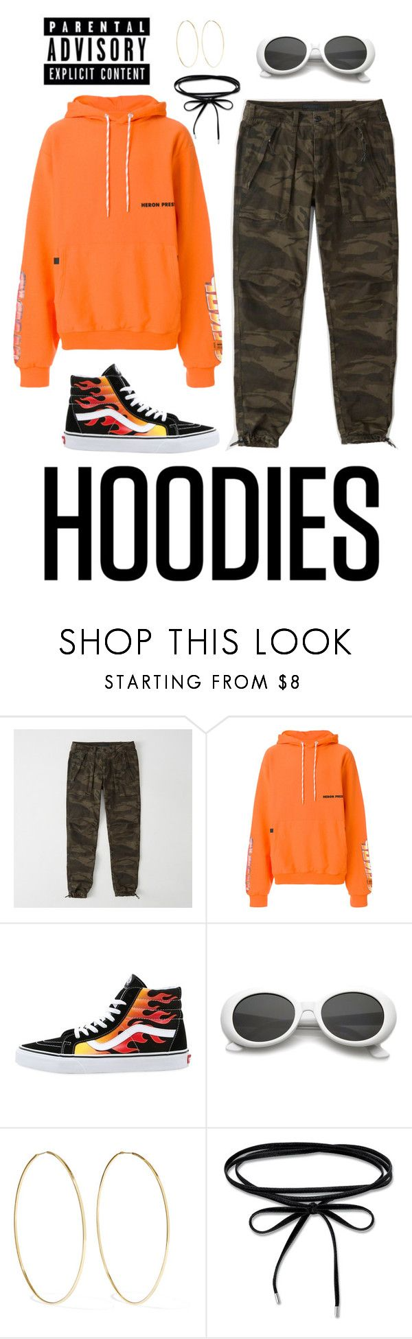 """""""Street Style"""" by douglas-conifer-tree ❤ liked on Polyvore featuring Abercrombie & Fitch, Heron Preston, Vans, Magda Butrym, StreetStyle and Clout"""