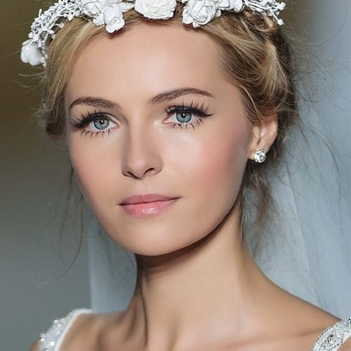 Even with simple make up its good to make one  aspect dazzling, like the eye lashes for example! Seen above x