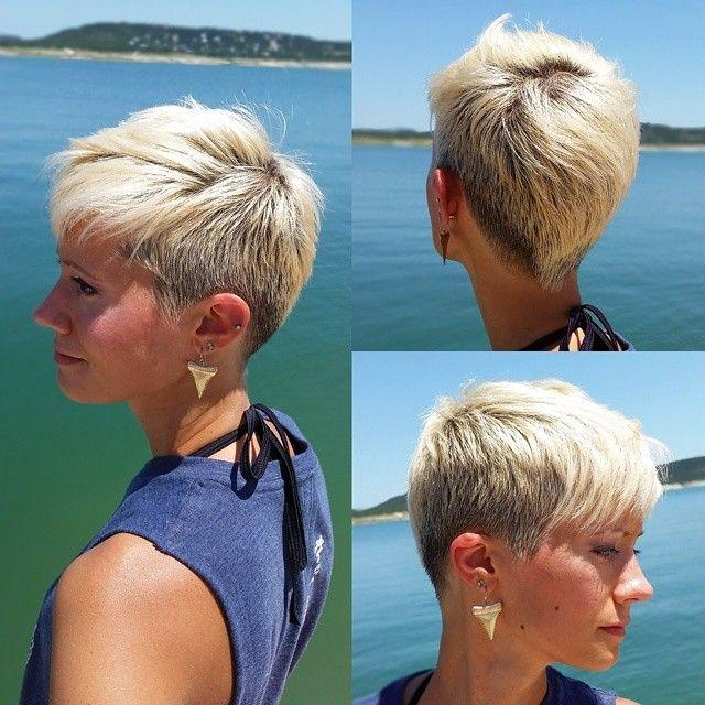 Stilvolle Kurzhaarfrisuren für Frauen mit dünnem Haar!