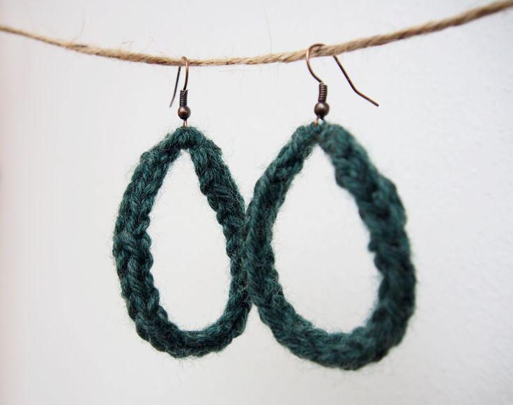 orecchini verde primavera accessorio donna handmade regalo femminile elegante orecchino monachella nichel free bronzo gioielli ragazza idea di ZenithLab su Etsy