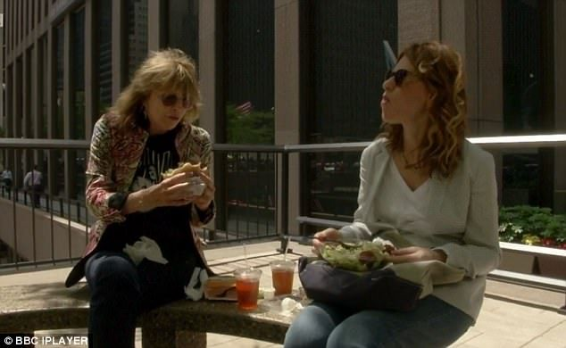 Speaking with her friend, comedian Sandra Bernhard, Chrissie moans about being single but also says she chooses to be alone