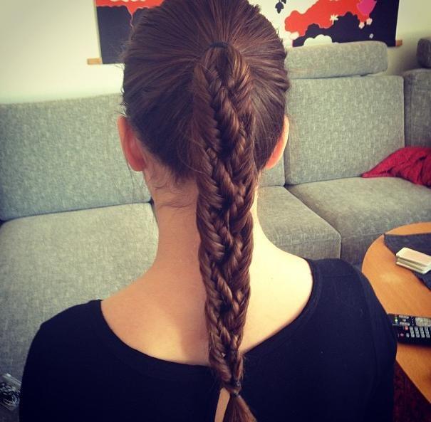 142 Best Braids Hajfonatok Images On Pinterest