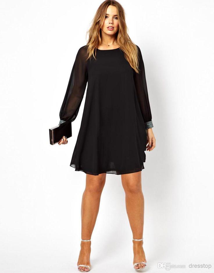 17 best ideas about White Plus Size Dresses on Pinterest   Black ...