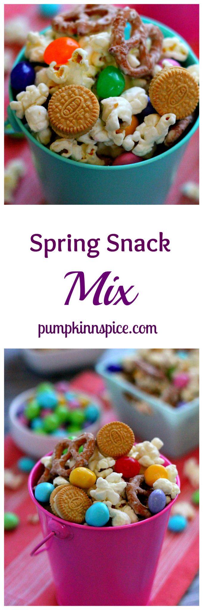 Spring Snack Mix   www.pumpkinnspice.com