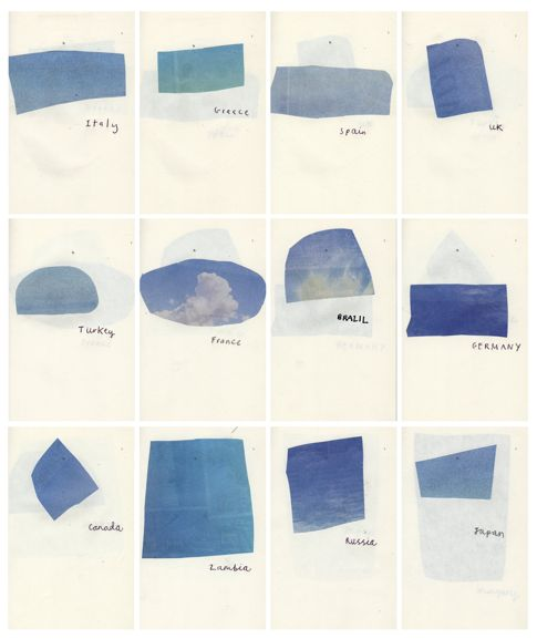 pieces of the sky  Joseph Rudi Pielichaty,Blue Skies