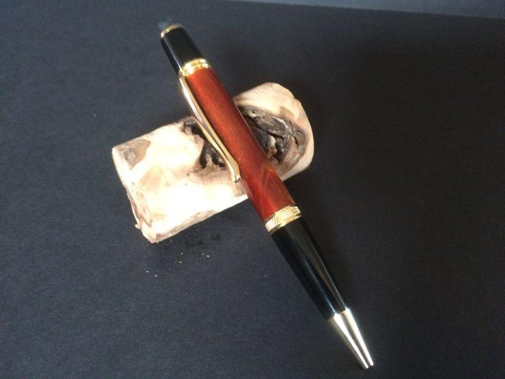 Rust & Black Acrylic Sierra Stylus Twist Pen by JackalopeWoodworks on Etsy