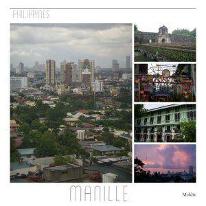 Page du blog consacrée à Manille, Philippines