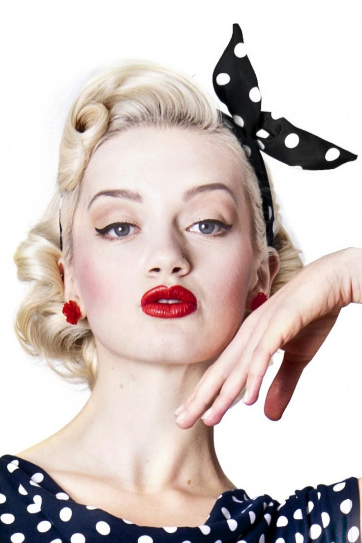 Collectif Clothing - 50s Pin-Up Dot Bandana Black