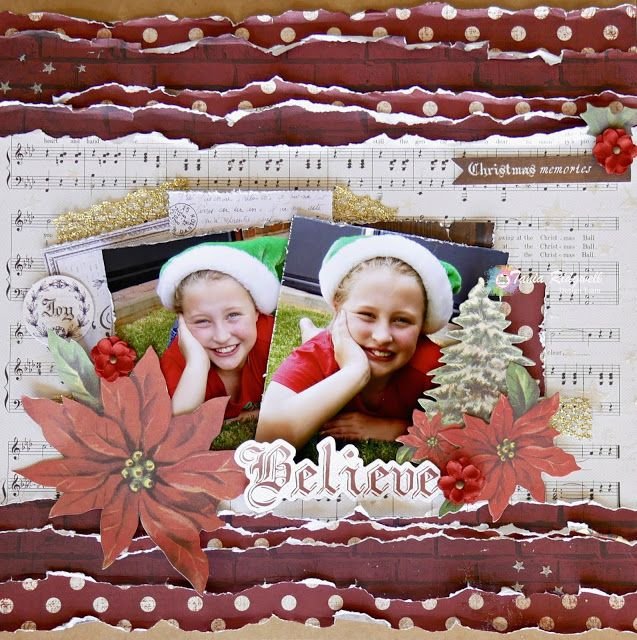 Tania's Creative Space: Shop and Crop Scrapbooking November DT Second Share