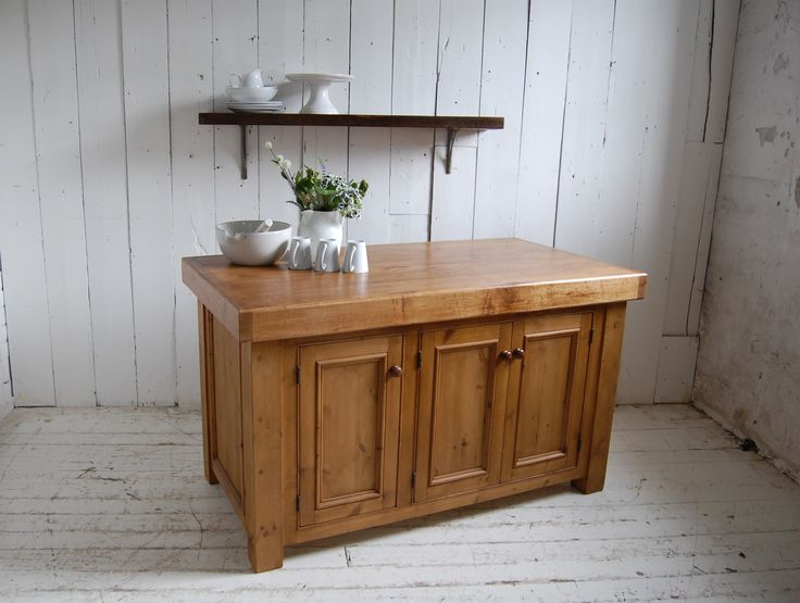 reclaimed bespoke island - Eastburn Country Furniture