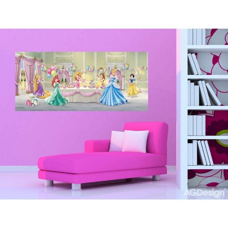 Disney hercegnők gyerek poszter (202 cm x 90 cm)