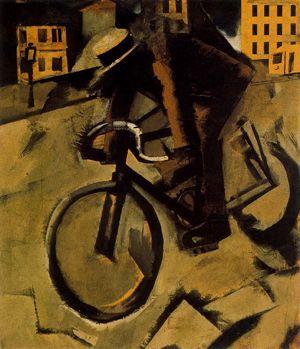 Sironi - il ciclista (1916/20)
