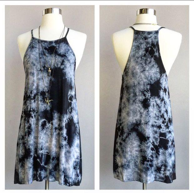 A Tie Dye Tank Dress