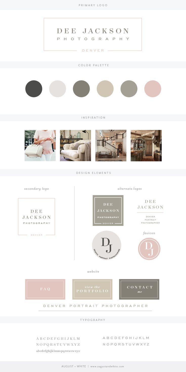 Brand Reveal: Dee Jackson Photography | August + White | Branding | Brand Design | Logo Design