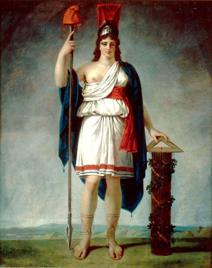 Figure allégorique de la République. Antoine-Jean GROS © Photo RMN-Grand Palais