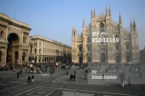 免版稅圖片:在意大利米蘭大教堂