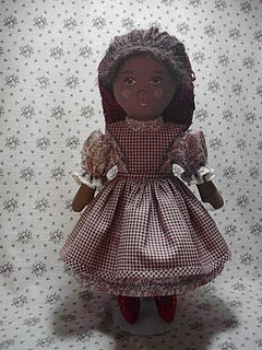 free pattern and tutorial for Prairie Flowers doll