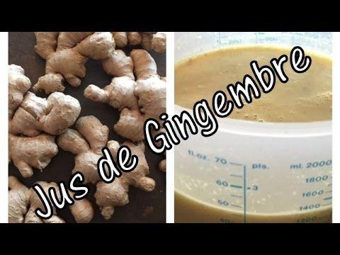 Le gingembre pour la pousse des cheveux {Ginger for hair growth} - YouTube