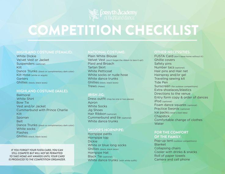 Scottish Highland Dance competitions, Utah