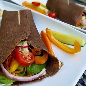 Recipe: Low Fat Vegan Chef's Raw Mediterranean Flax Tortilla Wraps- via - Healthy Piggies Updates - via @Paul Alewine