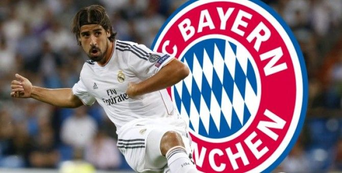 Khedira, pre-contract deal agreed with Bayern