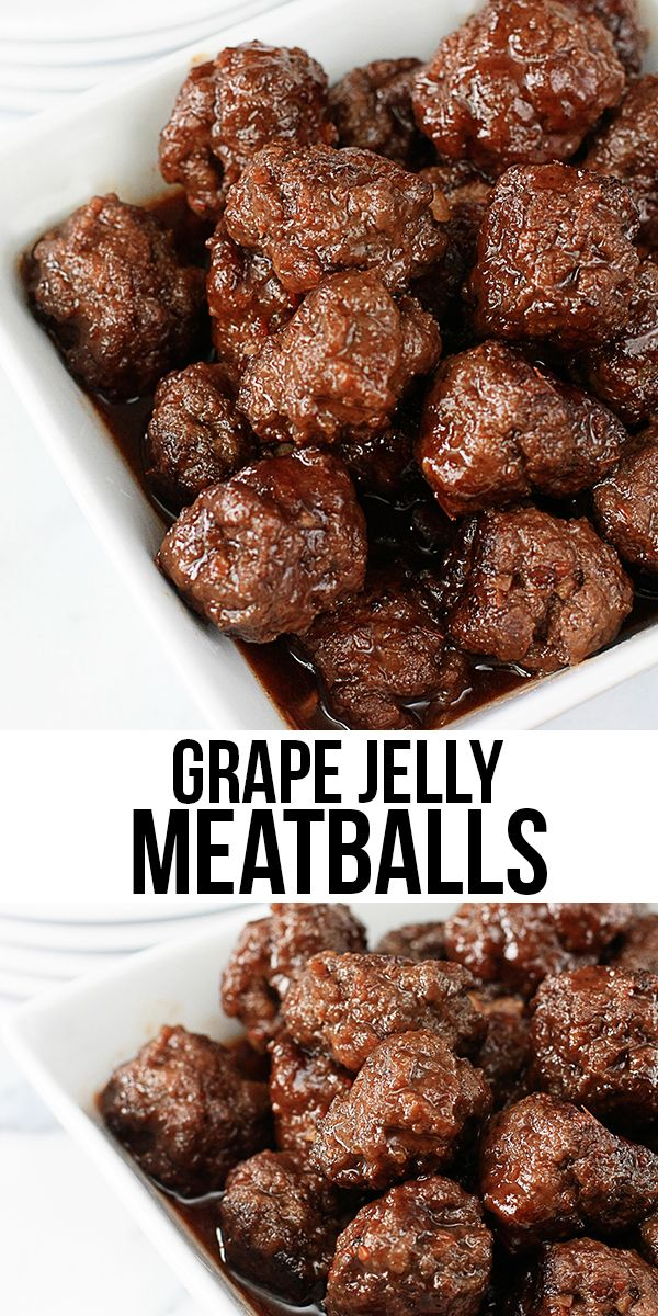 Delicious Grape Jelly Meatballs. Serve as appetizers or as the main dish! Mouthwatering with taste. livelaughrowe.com