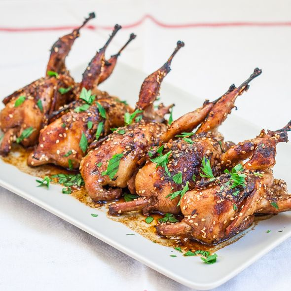 Asian Style Roasted Quail – these quails are full of flavor and spice, simply delicious. If you've never had quail before, then this recipe is a must.