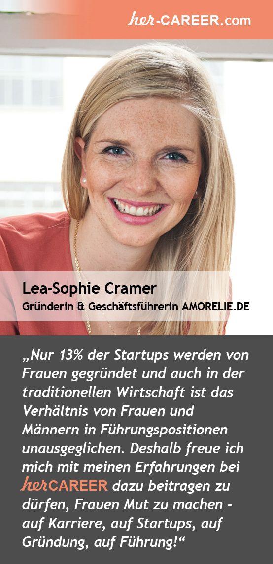 Lea-Sophie Cramer #Gründerin und #Geschäftsführerin @Sonoma Internet GmbH, Betreiberin des Online-Shop für Erotik-Lifestyle-Artikel @Amorelie unterstützt #Frauen auf der #herCAREER #StartUp #Gründung #Mut #FemaleFounder #herCAREER@Night #Karriere #Führung