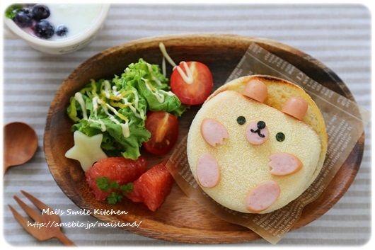 連載【イングリッシュマフィンでクマさん】の画像 | Mai's スマイル キッチン