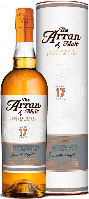 The Arran 17 Year Old Single Malt Scotch Whisky
