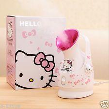 Japan's genuine cartoon Hello kitty moisturizing Face steamer Beauty sprayer