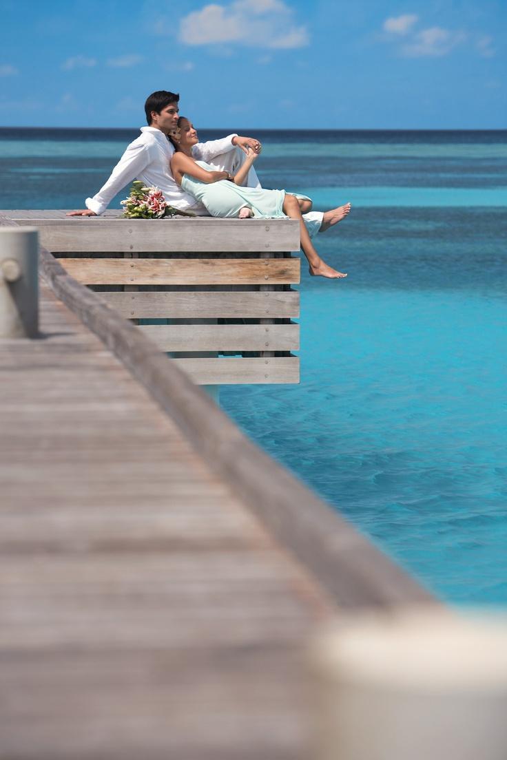 Enjoying every moment alone together (Four Seasons Resort Maldives at Kuda Huraa)