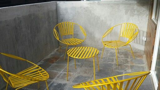 Muebles de jardin retro