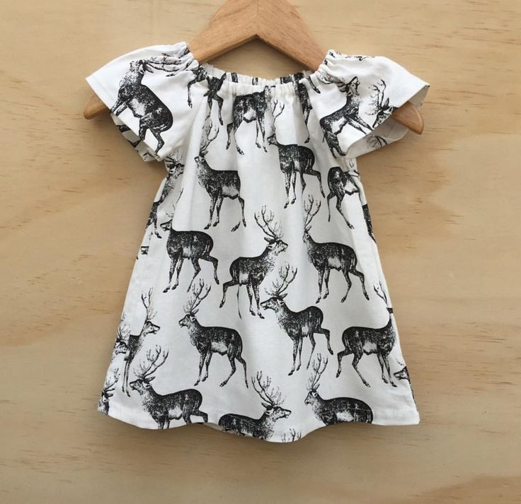 Image of 'Deer in the Woods' Dress